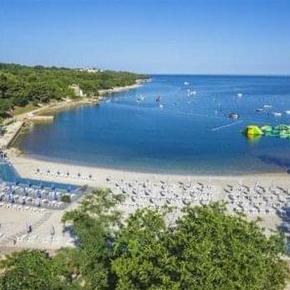 Istrie - dovolená v prémiovém rodinném resortu nejvyšší kvality s 3 km dlouhou pláží