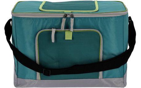 Chladicí taška Frigo zelená, 28 x 23 x 40 cm