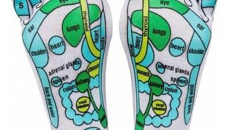 Masážní ponožky, L (40 - 43), 40 - 43