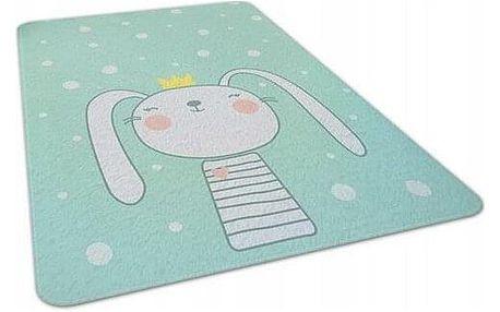 Domarex Dětský pěnový koberec Bunny, 120 x 160 cm