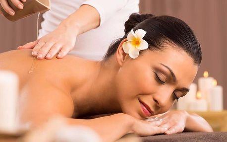 75 minut relaxace: masáž vč. zábalu nebo lázně