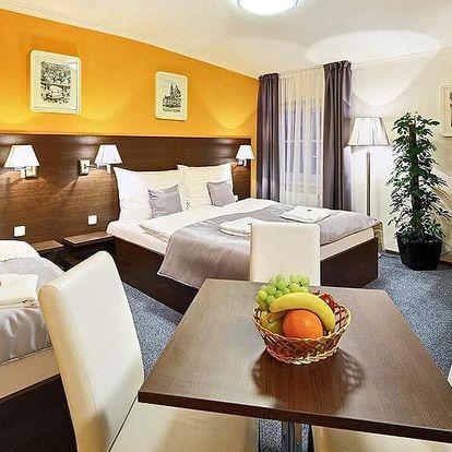 Podzim se snídaní ve 4* hotelu v Praze na Smíchově