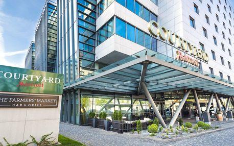 4* Courtyard by Marriott Prague City se snídaní