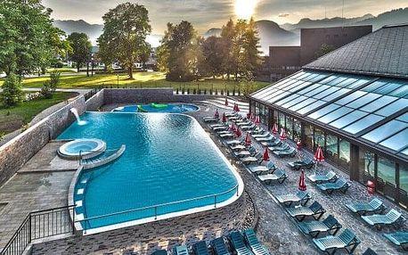 Zážitek ve Slovinsku: Celodenní vstupenka do Aquaparku Bohinj s venkovními i vnitřními bazény + sauny