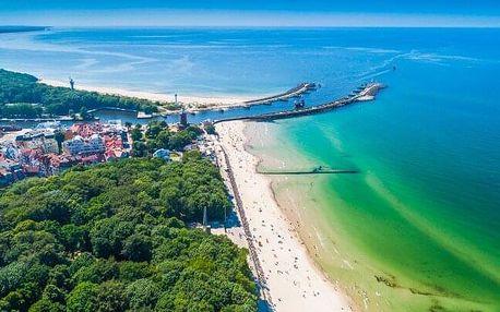 Polsko u Baltského moře: Sun & Snow Resorts Kołobrzeg **** v apartmánu pro 4 osoby + bazén a sauna neomezeně