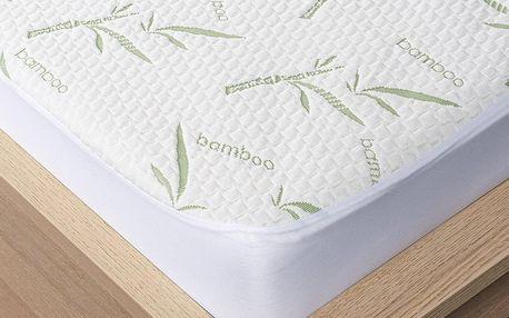 4Home Bamboo Chránič matrace s lemem, 160 x 200 cm