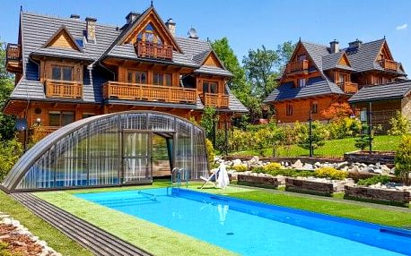 Polské Tatry: Zakopane v Sun & Snow Resorts Lipki Park *** se snídaněmi, venkovním bazénem a saunou
