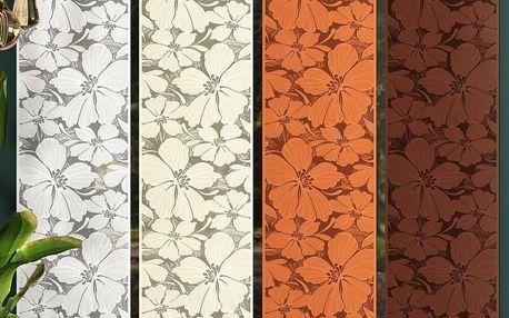Forbyt Japonská stěna Floris béžová, 50 x 240 cm