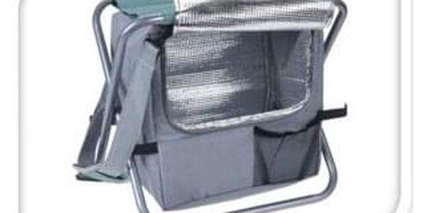 Redcliffs Kempingová skládací stolička s chladicí taškou, modrá3