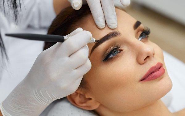 Permanentní make-up obočí včetně korekce
