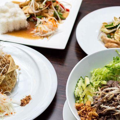 Výběr z 6 vietnamských jídel pro 1 i 2 osoby
