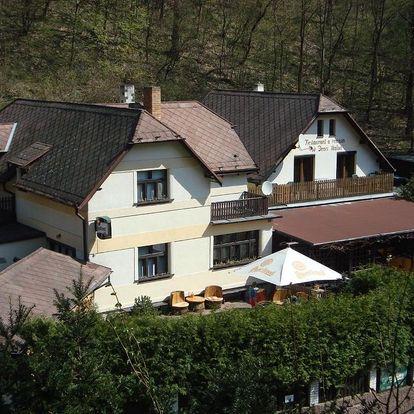 Karlštejn, Středočeský kraj: Restaurant a penzion Pod Draci skalou