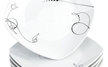 Mäser 6dílná sada dezertních talířů Chanson, 19 cm