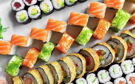 56 či 72 kousků sushi v Porubě klidně i s sebou