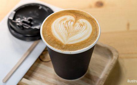 Káva podle výběru ze 4 druhů na odnos s sebou