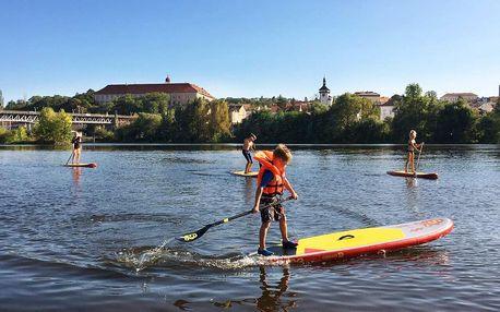 Zapůjčení paddleboardu: 60 či 120 minut i na půl dne