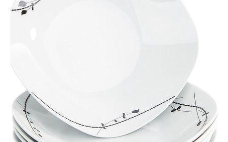 Mäser 6dílná sada hlubokých talířů Londra, 21,5 cm