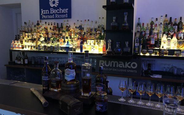 Řízená degustace rumů Letem světem pro dvě osoby3