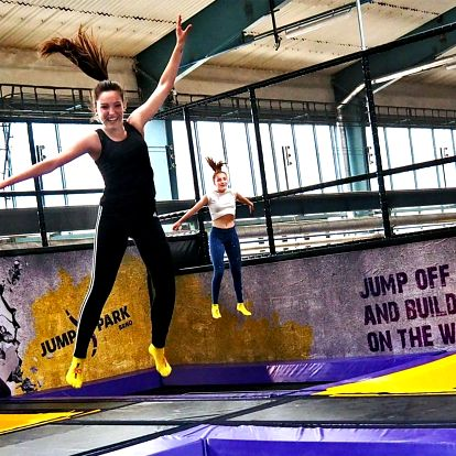 Zábavný JumpPark Brno: hodina pro malé i velké