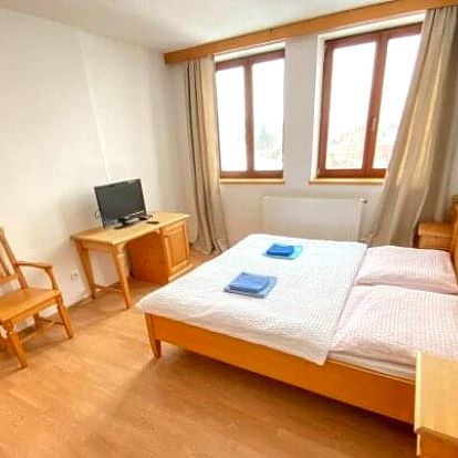 Pobyt v srdci CHKO Jeseníky: Hotel Zlatý Chlum *** s polopenzí, welcome drinkem a wellness (vířivka, sauna)