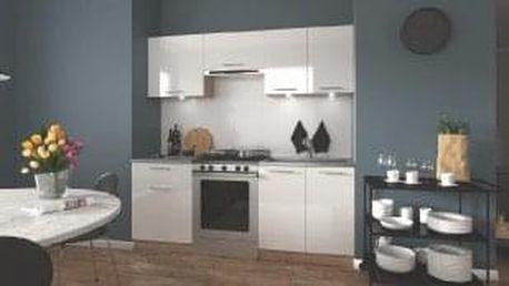 Kuchyňská linka Marija 200. bílá lesk