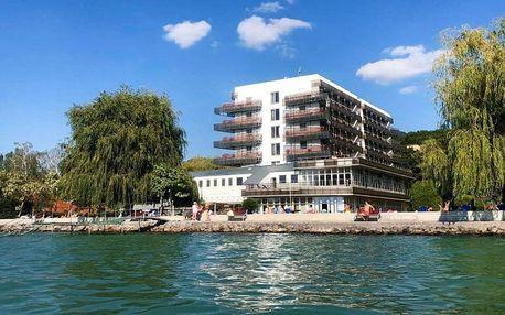 Relax u Balatonu: soukromá pláž, bazén i sauna