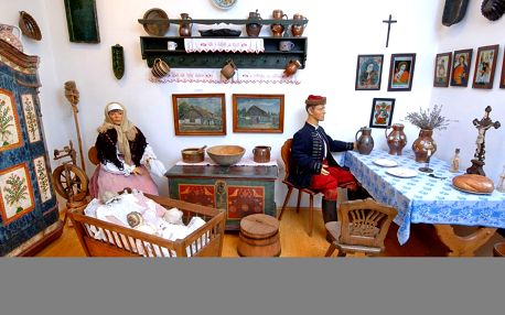 Vstup pro dítě, dospělého i rodinu do muzea Loreta
