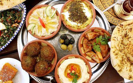 Libanonské vegetariánské menu pro 2 osoby