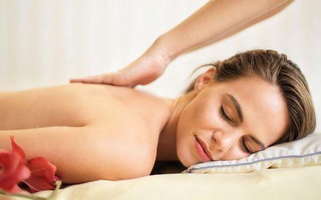 Relaxační a uvolňující masáže dle výběru ze 7 druhů