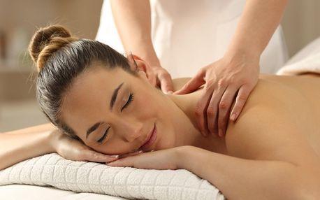 Relaxační nebo kancelářská masáž vč. aromaterapie