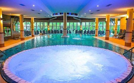 Hévíz: Luxus v Lotus Therme Hotelu & Spa ***** s termálním bazénem, saunovým světem, šampaňským a polopenzí