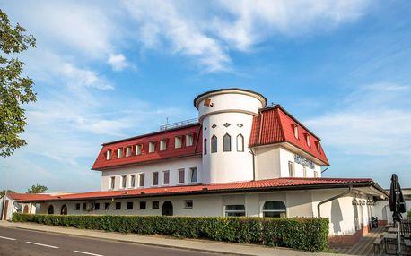Romantika ve vinařské oblasti jižní Moravy s bazénem v hotelu Styria