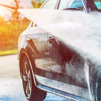 Profi ruční mytí auta: exteriér, interiér i ozon