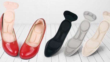 Dva páry pohodlných vložek do dámských bot