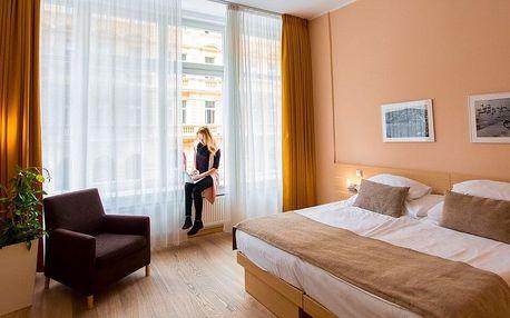Romantika v centru Prahy: 4* hotel i wellness