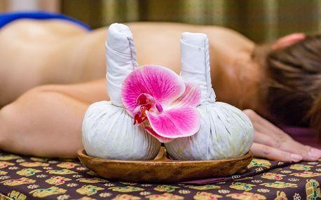 Thajské masáže v kombinaci s bylinnými sáčky