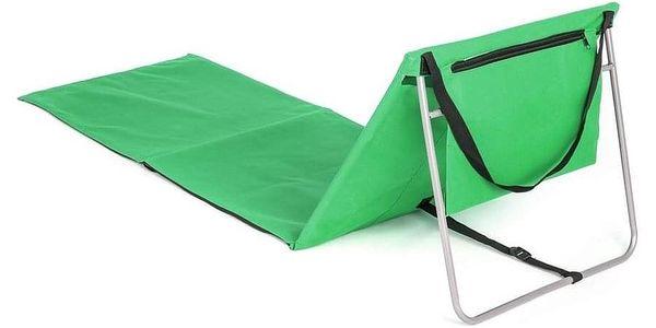 HAPPY GREEN Podložka plážová AUSTIN s ocelovou konstrukcí, 150 x 54 cm, zelená5