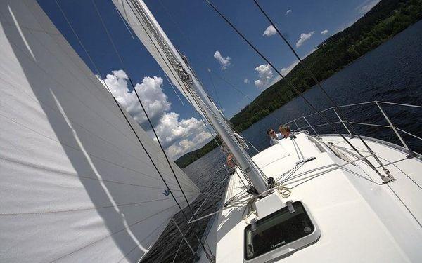 Den na jachtě s kapitánem