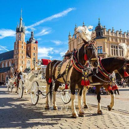 Krakov – pohodový wellness pobyt v nejkrásnějším městě Polska & POLOPENZE 3 dny / 2 noci, 2 osoby, polopenze