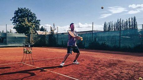 Lekce tenisu s profesionálním trenérem z okruhu ATP