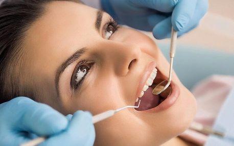 Dentální hygiena vč. ultrazvuku pro zářivý úsměv