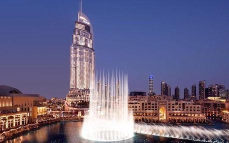 Spojené arabské emiráty - Dubaj letecky na 5-12 dnů, snídaně v ceně