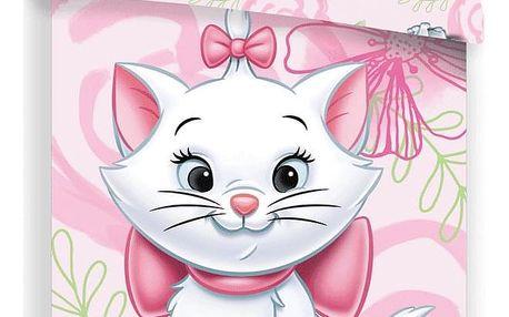 Jerry Fabrics Dětské povlečení Marie pink 02, 140 x 200 cm, 70 x 90 cm