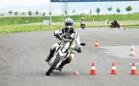 Kurz bezpečné jízdy na motorce