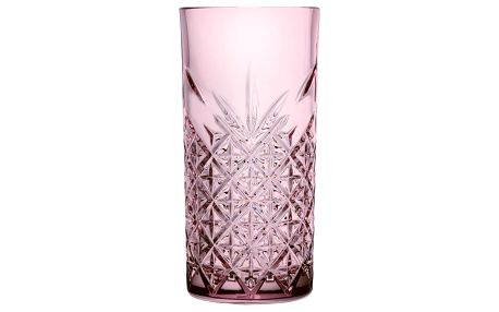 Timeless 4dílná sada sklenic 450 ml, růžová