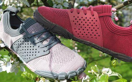 Sportovní barefoot obuv z lehkého materiálu, unisex