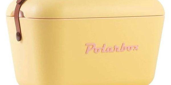 POLARBOX Chladící box 20L, žlutá