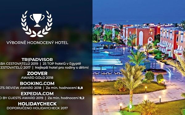 Hotel Sunrise Garden Beach Resort & Spa, Hurghada, letecky, ultra all inclusive5
