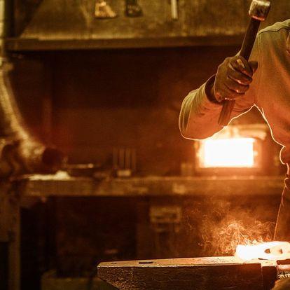 3–5hod. kurz kovářství vč. výroby růže či zvonečku