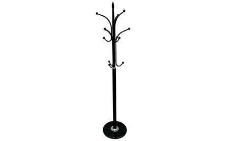 Tempo Kondela Kovový věšák Belvin 175 cm, černá